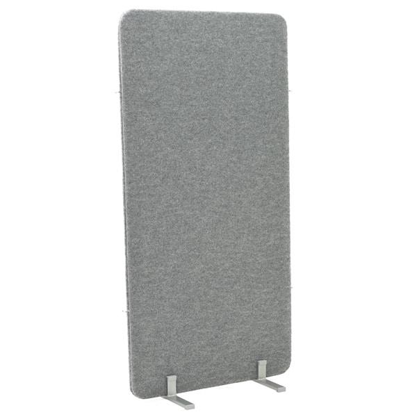 Akustik-Trennwand - Höhe: 160 cm - grau 1