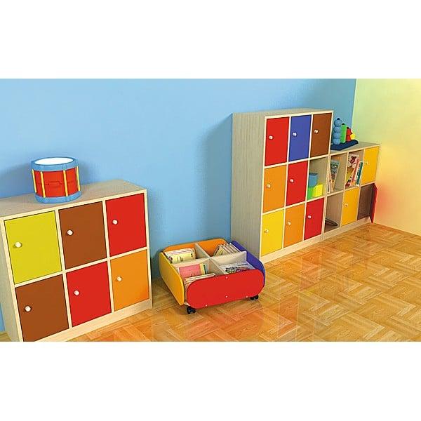 Kindergarten-Bücherbehälter 3