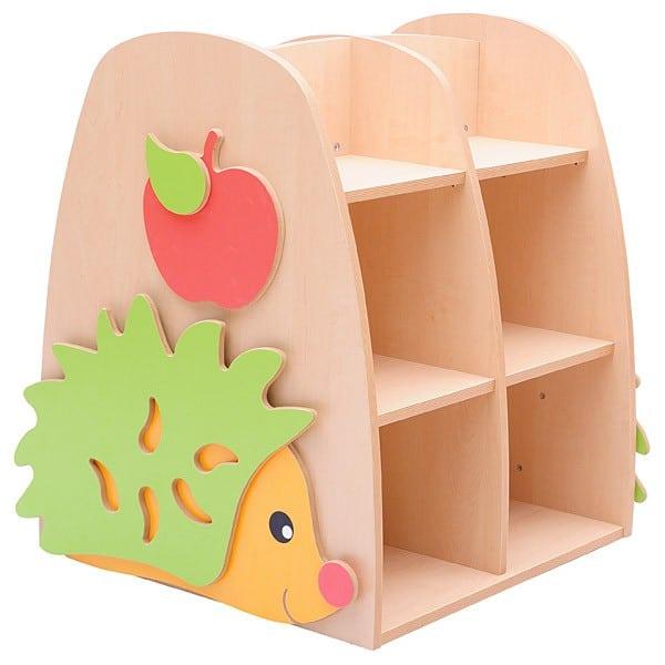 Kindergarten-Bücherregal - Igel 1