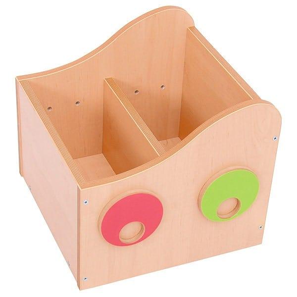 Kindergarten-Bücherregal Raupe - Behälter 1