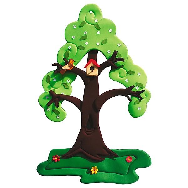 Wandbehang - Birnenbaum - im Wandel der 4 Jahreszeiten 1