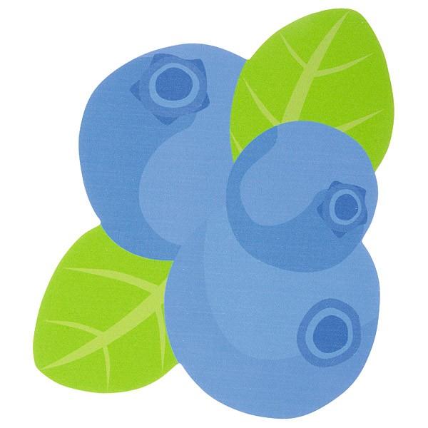 Sensorische Applikation - Blaubeeren 1