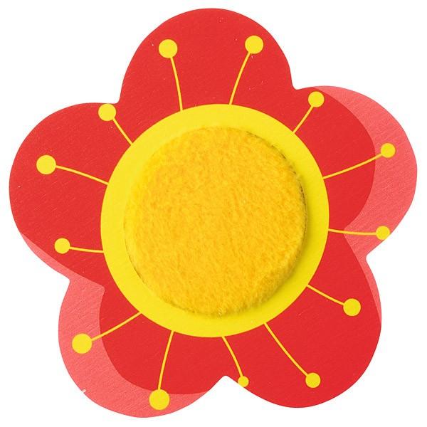 Sensorische Applikation - Blumenblüte mit Muster 1