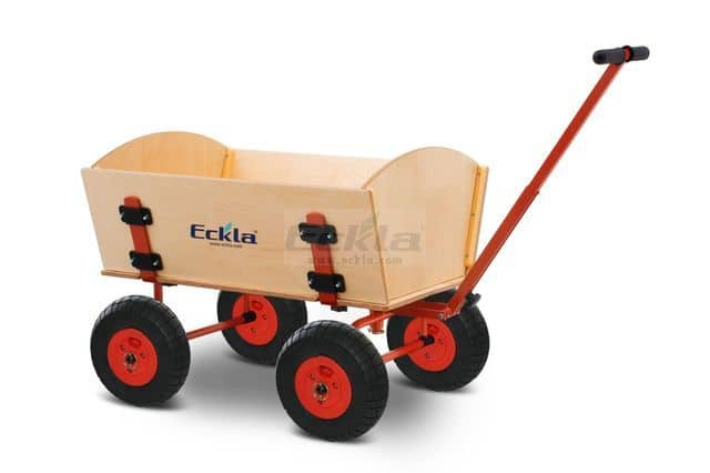 Bollerwagen ECKLATRAK®-EASY (mit Lufträdern) 1