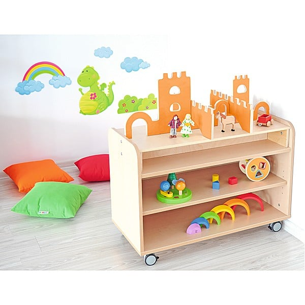 Kindergarten-Funktionsaufsatz Flexi - Burg 2
