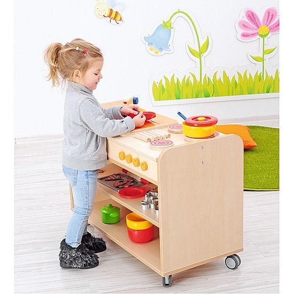 Kindergarten-Funktionsaufsatz Flexi - Küche 2