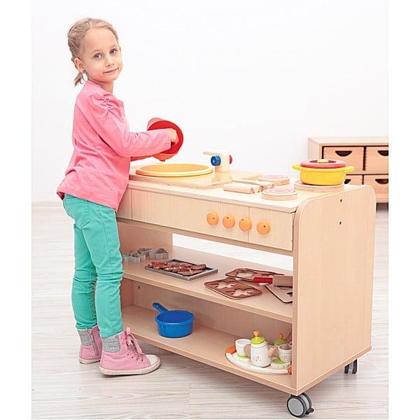 Kindergarten-Funktionsaufsatz Flexi - Küche 3