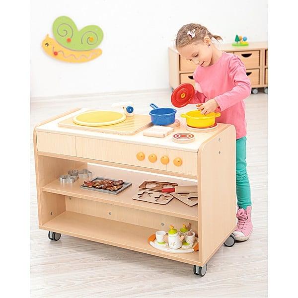 Kindergarten-Funktionsaufsatz Flexi - Küche 4