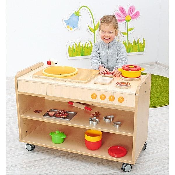 Kindergarten-Funktionsaufsatz Flexi - Küche 6