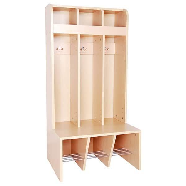 Garderobe Schmetterling - 3 Fächer - Sitzhöhe: 32,5 cm 1