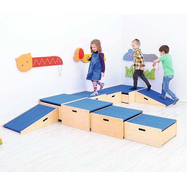 Kindergarten-Podeste - 3 Stufen 4
