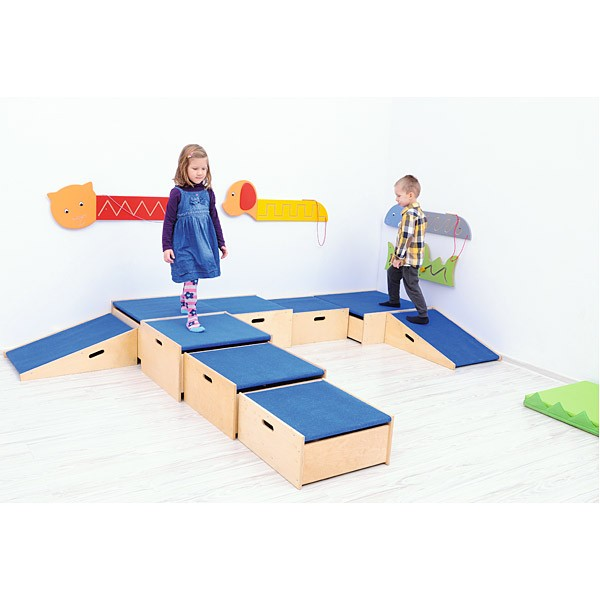 Kindergarten-Podeste - 3 Stufen 5