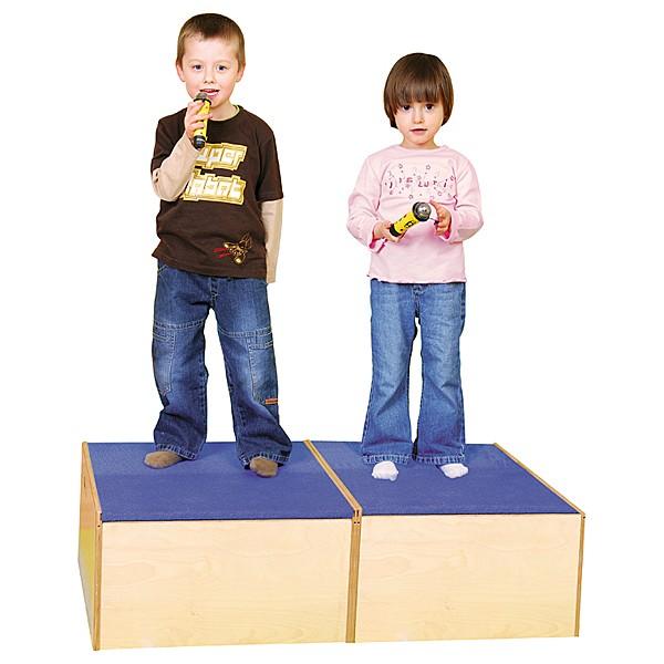 Kindergarten-Podest Quadratbühne 4