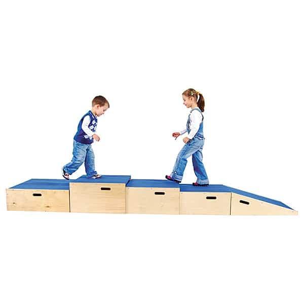 Kindergarten-Podest Quadratbühne 5