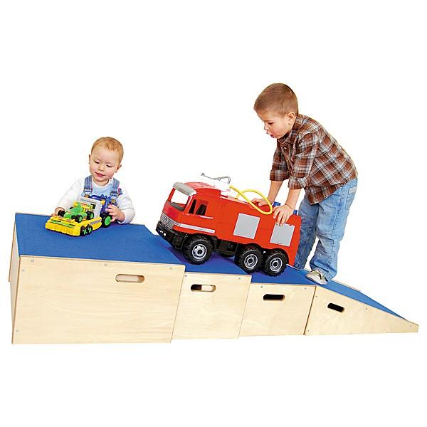 Kindergarten-Podest Quadratbühne 2