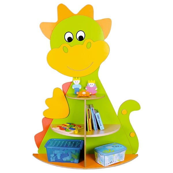 Kindergarten-Spielecken Regal - Drache 1