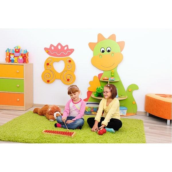 Kindergarten-Spielecken Regal - Drache 6