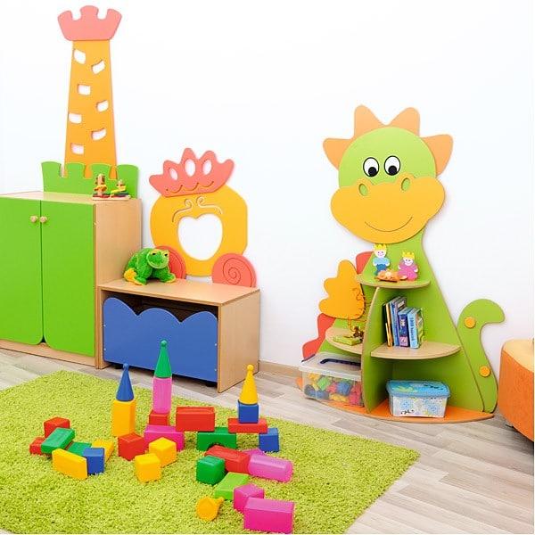 Kindergarten-Spielecken Regal - Drache 7