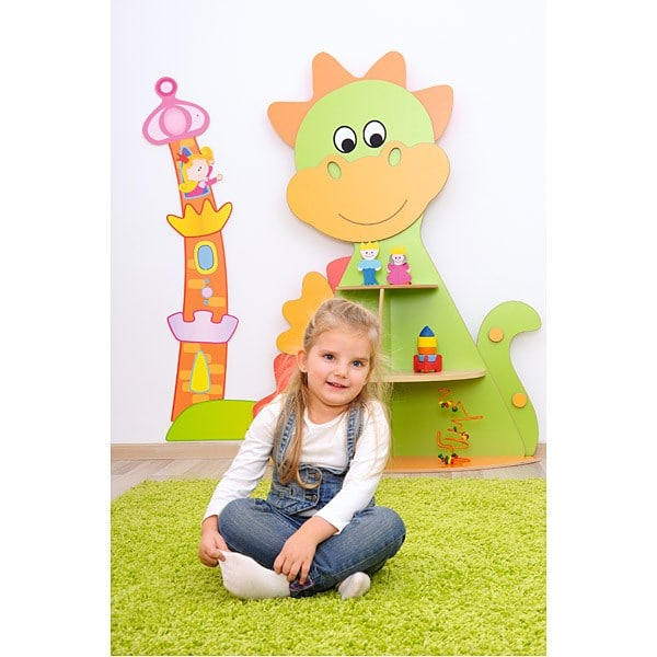 Kindergarten-Spielecken Regal - Drache 8