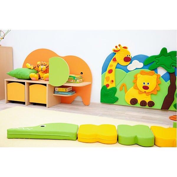 Kindergarten-Spielecken Regal - Elefant 2
