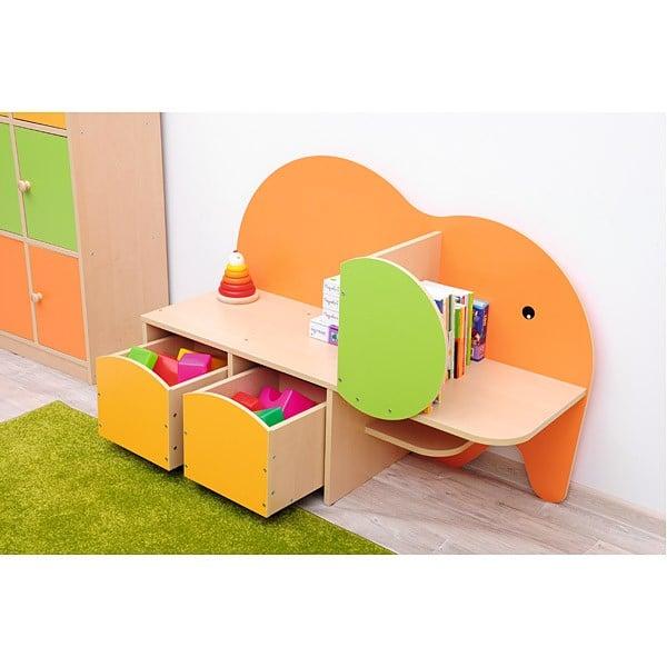 Kindergarten-Spielecken Regal - Elefant 5