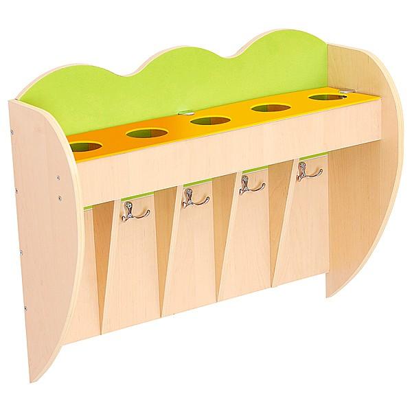Kindergarten-Regal für Zahnputzbecher 1