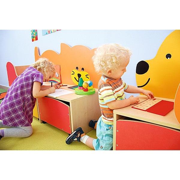Kindergarten-Spielecken Regal - Katze 3