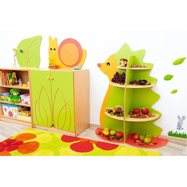 Kindergarten-Spielecken Regal - Igel 5