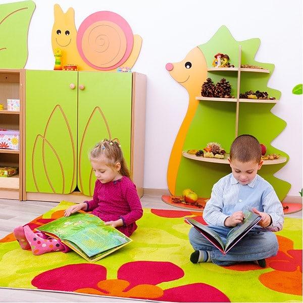Kindergarten-Spielecken Regal - Igel 6