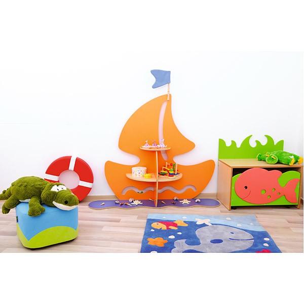 Kindergarten-Spielecken Regal - Schiff 4