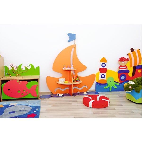 Kindergarten-Spielecken Regal - Schiff 5