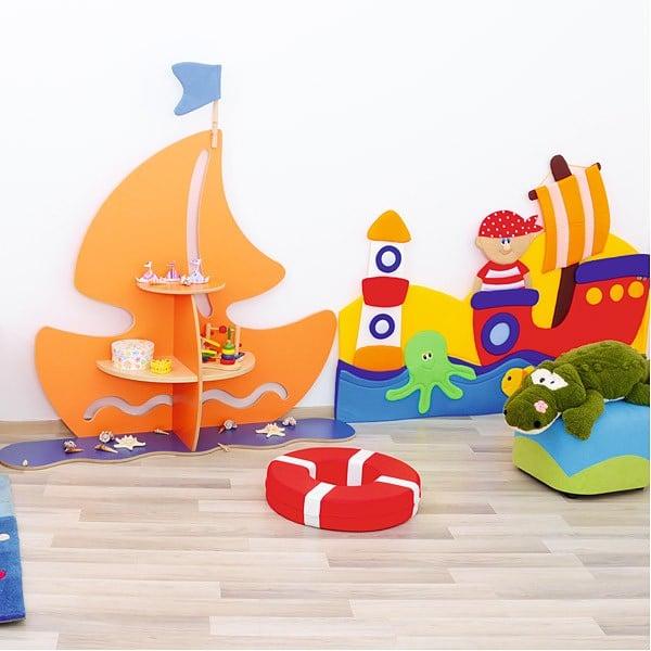 Kindergarten-Spielecken Regal - Schiff 6