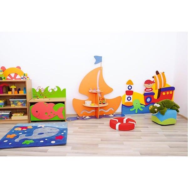 Kindergarten-Spielecken Regal - Schiff 7