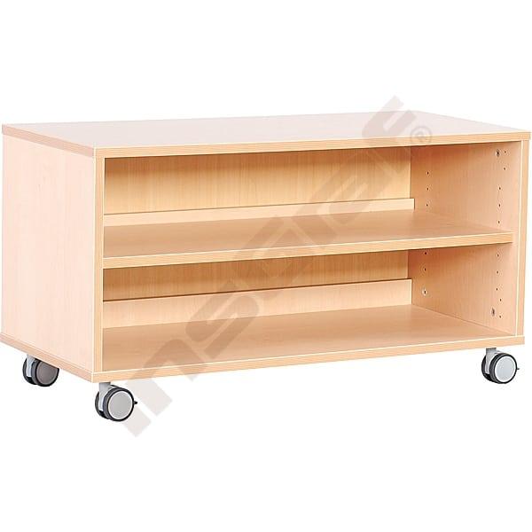Kindergarten-Flexi Schrank S mit 1 Einlegeboden - Breite: 89 cm 2