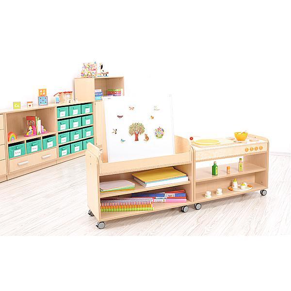 Möbelsatz Flexi Regal + Schrank M - Flexi 80 1