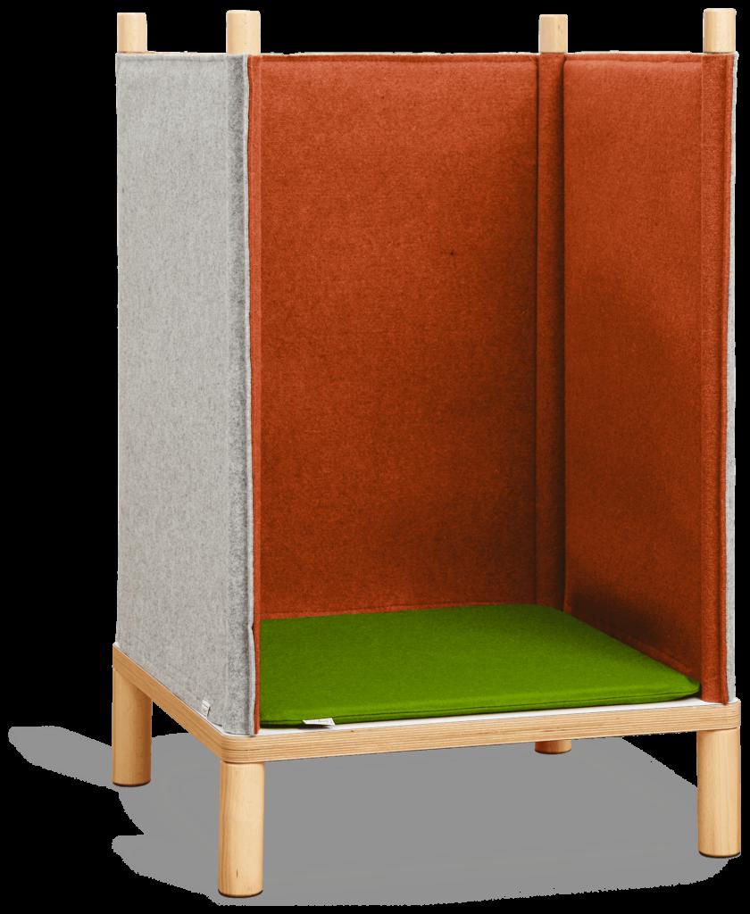 SILA Sessel - modulare Akustik-Möbel 11