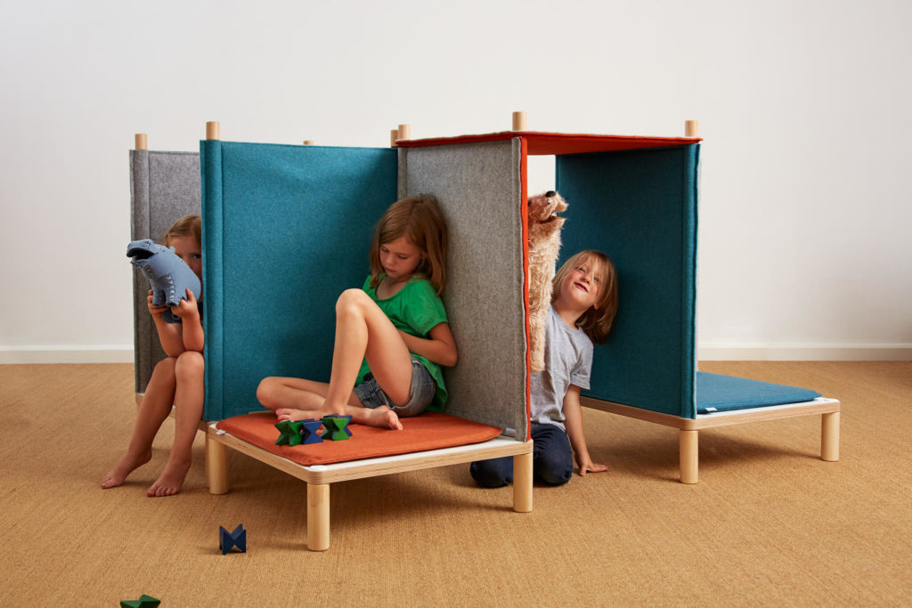 SILA Couch klein - modulare Akustik-Möbel 8