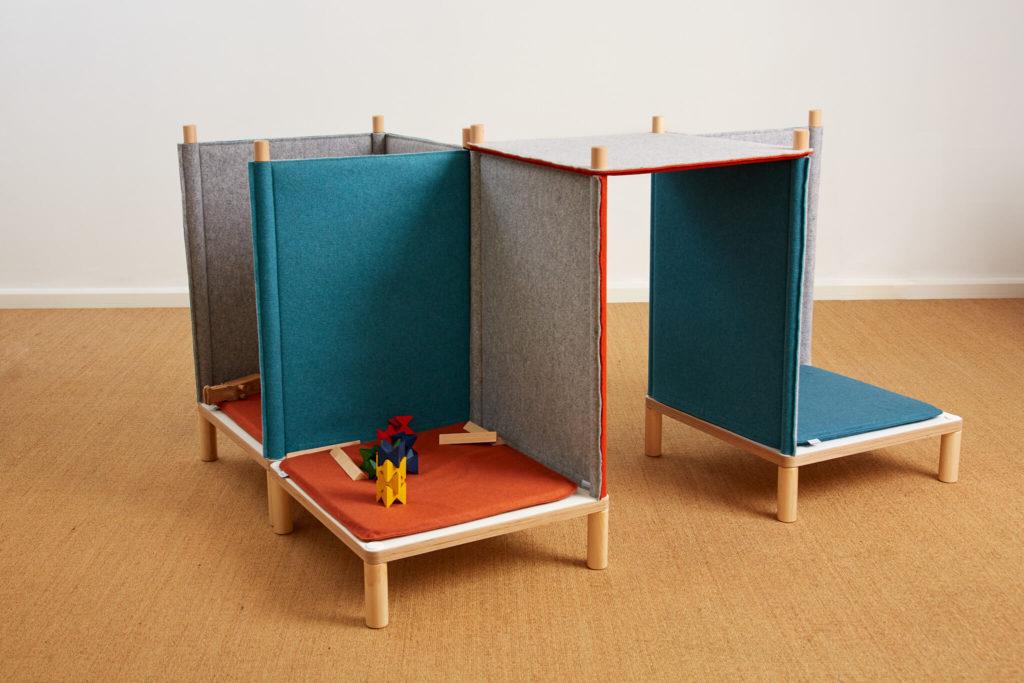 SILA Couch klein - modulare Akustik-Möbel 10