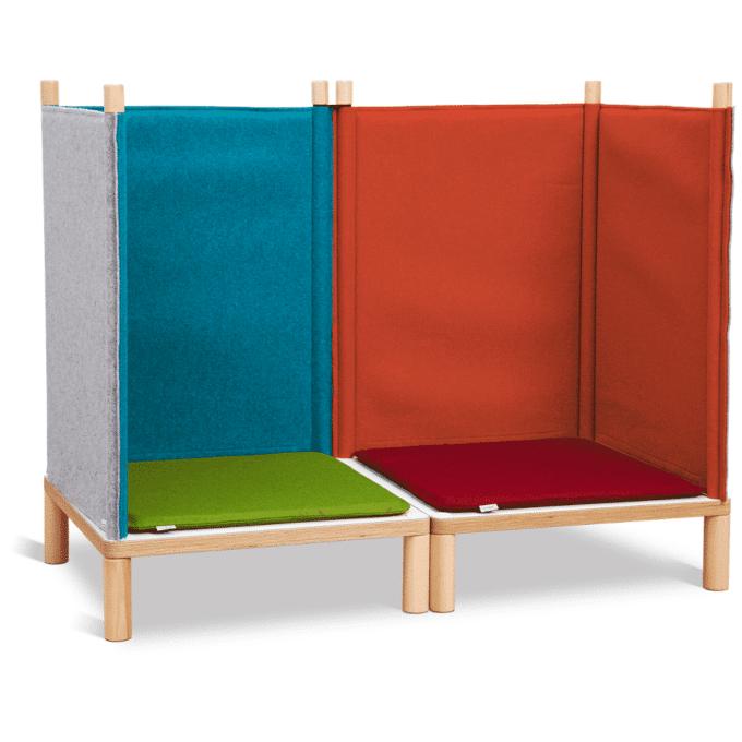 SILA Couch klein - modulare Akustik-Möbel 1