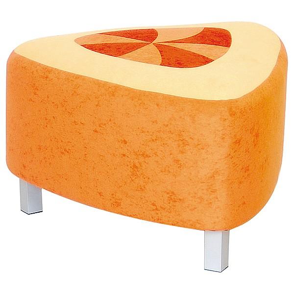 Kindergarten-Sitz Premium - dreieckig - orange/gelb 1