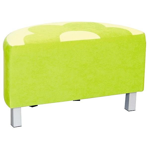 Kindergarten-Sitz Premium - halbrund - grün 2