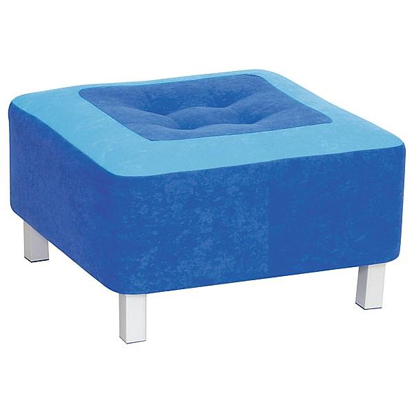 Kindergarten-Sitz Premium - quadratisch - blau 1