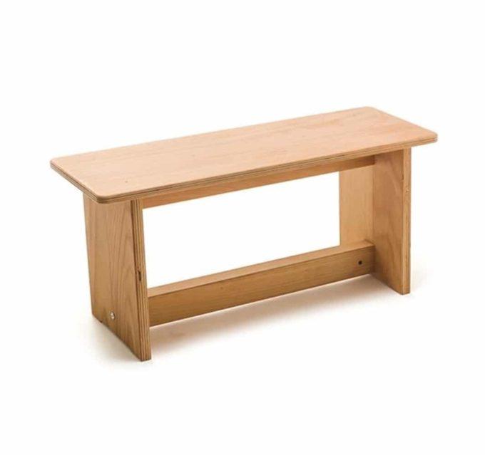 Sitzbank - klein - Buche 1
