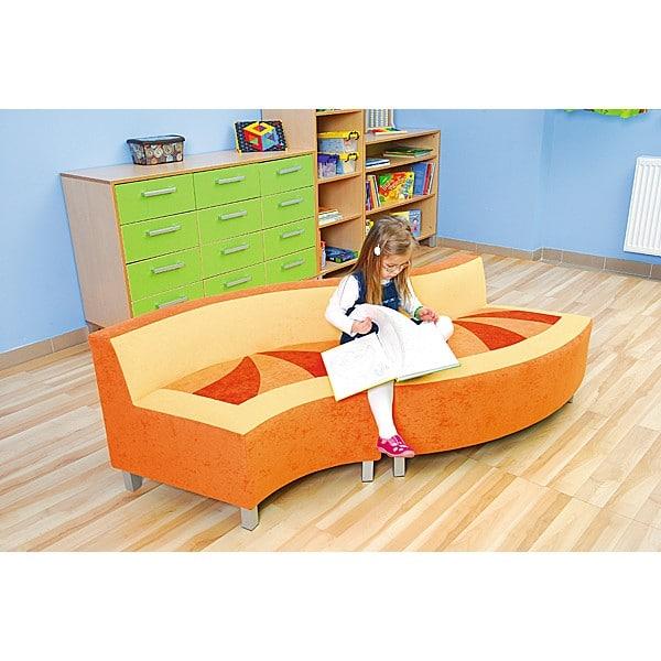 Kindergarten-Sofa Premium - konkav 2