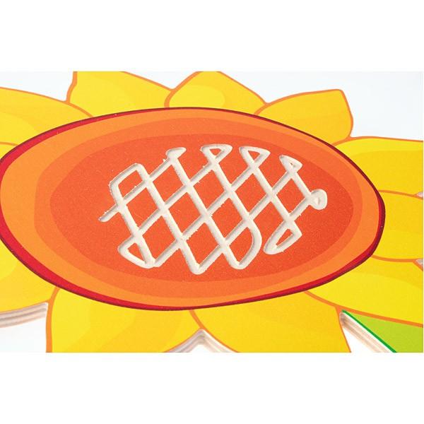 Sensorische Applikation - Sonnenblume 2