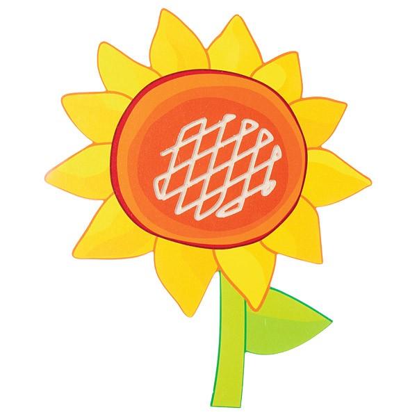 Sensorische Applikation - Sonnenblume 1