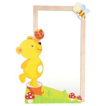 Spiegelschmuck - Bär mit Biene 5