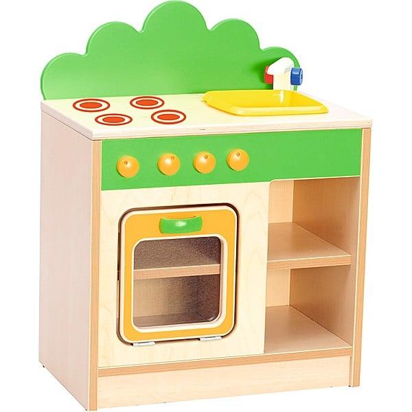 Kindergarten-Spielecke Hannah - Herd mit Spüle 1