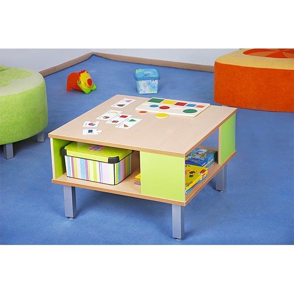 Kindergarten-Tisch Premium mit Ablagefach 3