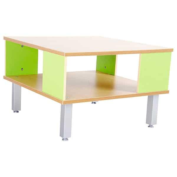 Kindergarten-Tisch Premium mit Ablagefach 1